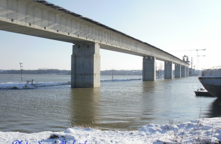 BTV team saw the construction of Danube Bridge Vidin-Calafat – 2010