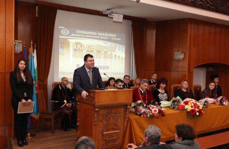 Видинчанин номиниран за ректор на Икономическия в Свищов