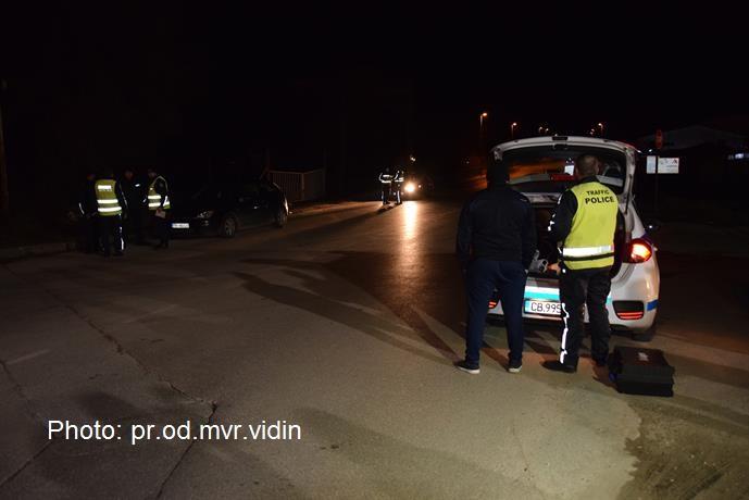 85 нарушения за 8-часова полицейска операция във Видин