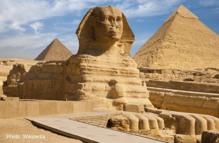 What lies under the Pyramid of Egypt?