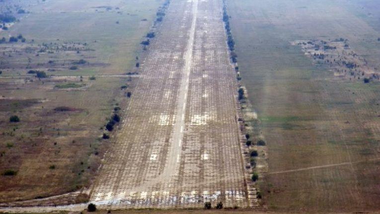 Бивше военно летище става паркинг за 3000 ТИР-а