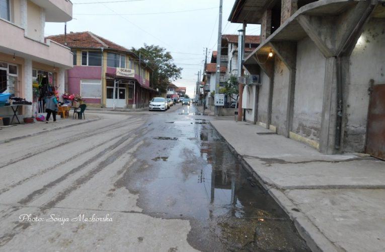 """Коронавирусът """"чисти"""" канализацията на ромския квартал във Видин"""