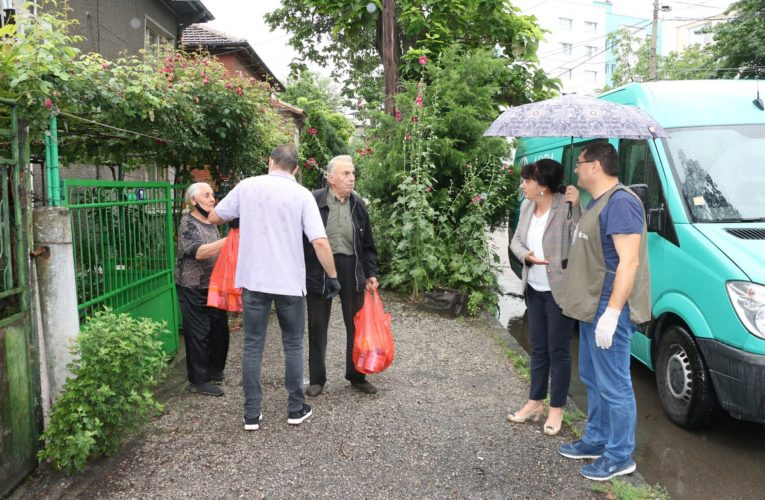 Дарение хранителни продукти за Община Видин