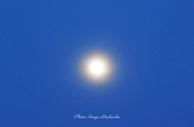 Пълнолуние и лунно затъмнение днес