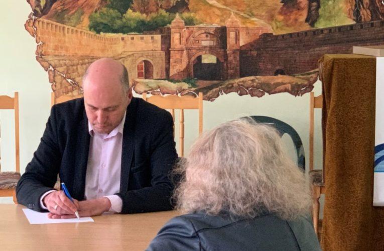 Момчил Станков се срещна с жители на три общини