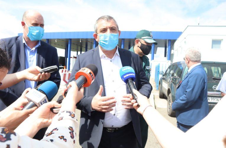 """Директорът на ГД """"Гранична полиция""""  на Дунав мост Видин-Калафат"""
