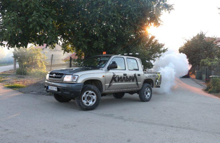 Пръскане против комари във Видин
