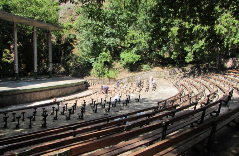 Ремонтират летния театър в Белоградчик