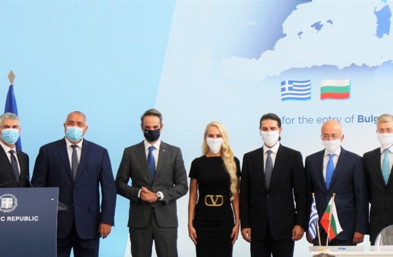 Споразумение за газова връзка с Гърция