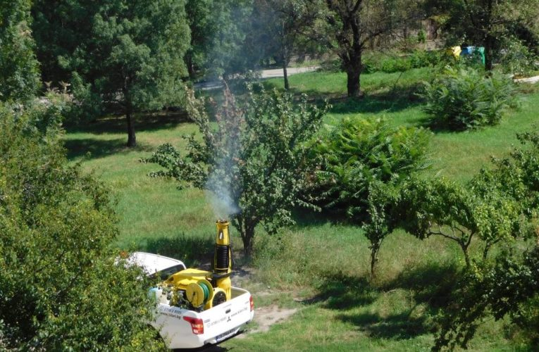 Пръскане срещу гъсеници
