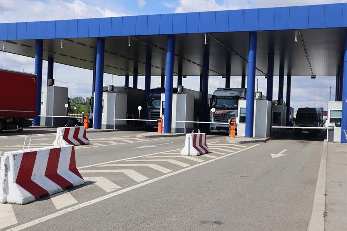 Интензиван трафик на румънската граница