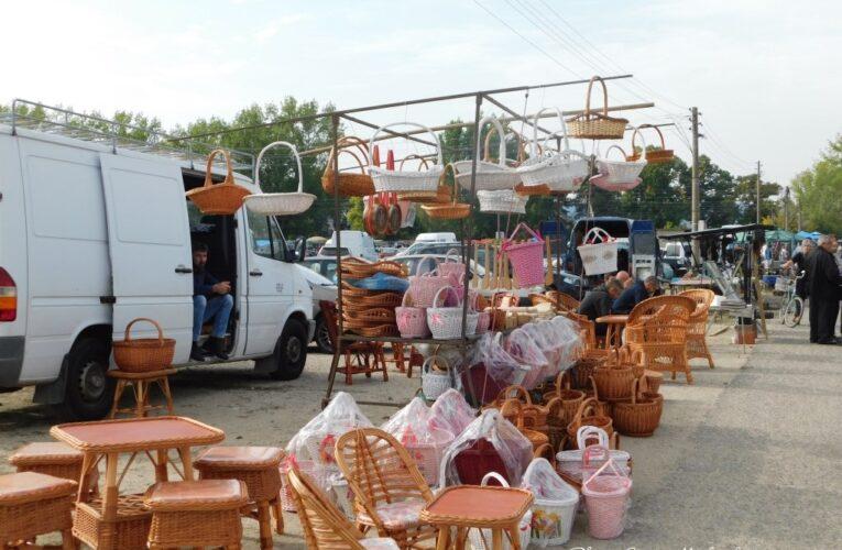 Неделният пазар в Неготин, Сърбия