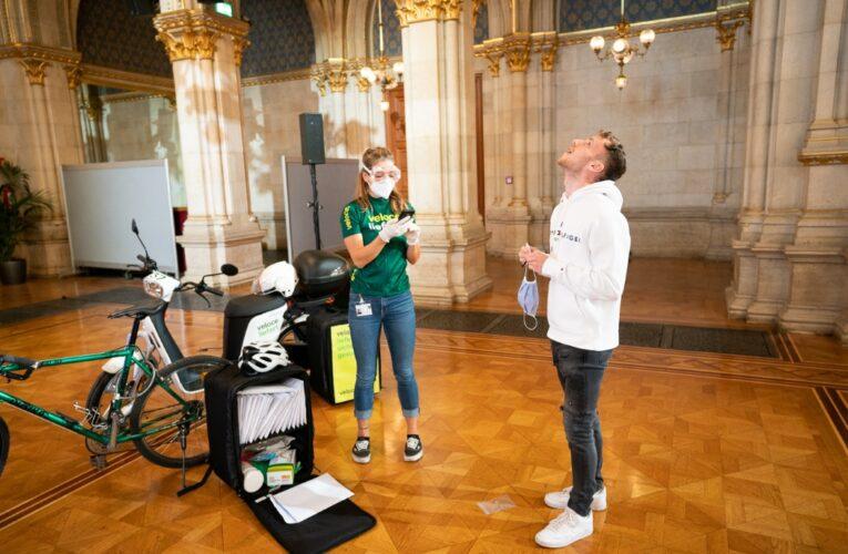 Виена прави тест за Ковид с гаргара
