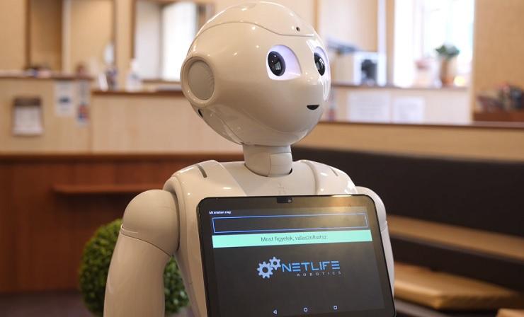 Робот в клиника