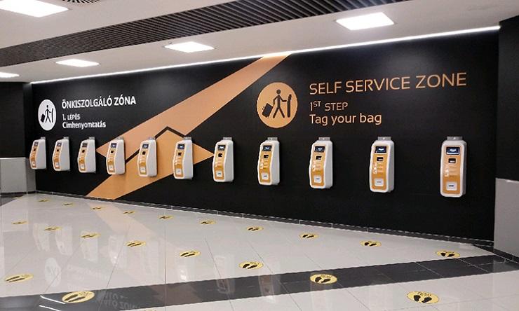 Летище Будапеща автоматично регистрира багажа