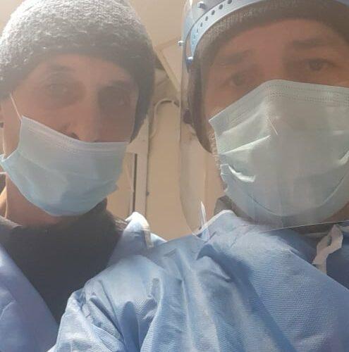 Доброволец от Англия във Видинската болница