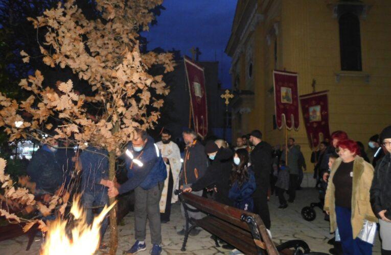 Запалиха Бъдняка в Сърбия