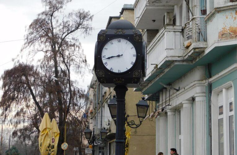 Замръзналият градски часовник