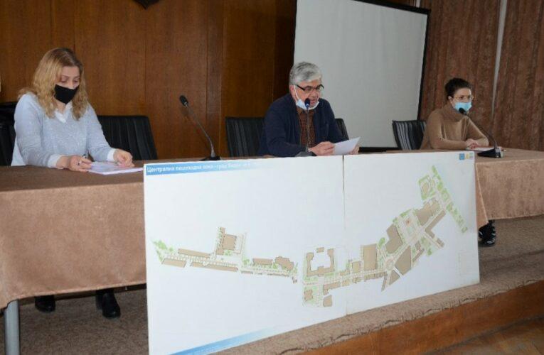 Продължава реконструкцията на центъра във Видин