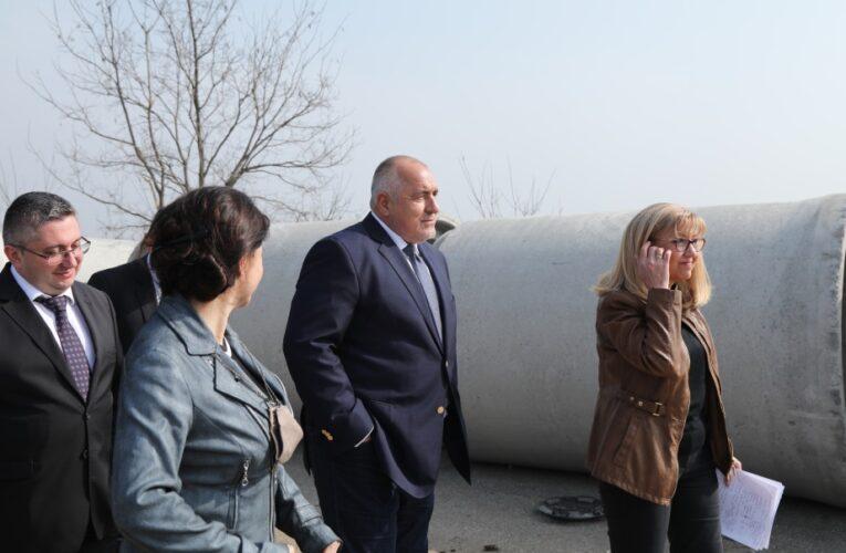Борисов по трасето Видин-Ботевград
