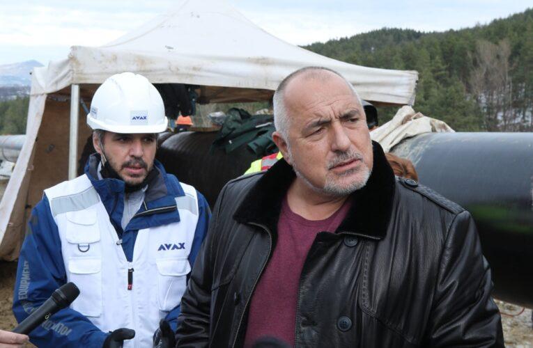 Газовата връзка с Гърция