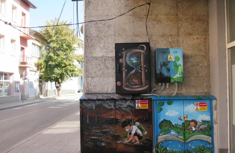 Рисунки на ел. табла в Белоградчик
